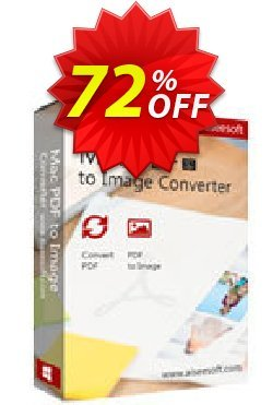 Aiseesoft Mac PDF to Image Converter Coupon, discount 40% Aiseesoft. Promotion: 40% Off for All Products of Aiseesoft