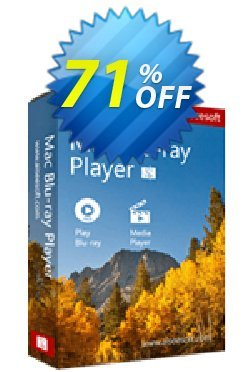 Aiseesoft Mac Blu-ray Player Coupon discount 50% Aiseesoft - 50% Off for All Products of Aiseesoft