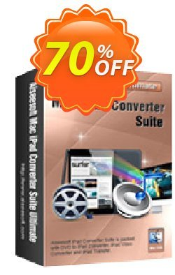 Aiseesoft Mac iPad Converter Suite Ultimate Coupon, discount Aiseesoft Mac iPad Converter Suite Ultimate stunning deals code 2021. Promotion: stunning deals code of Aiseesoft Mac iPad Converter Suite Ultimate 2021