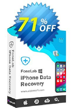 Aiseesoft FoneLab Coupon discount FoneLab - iPhone Data Recovery wonderful deals code 2019 - 40% Off for All Products of Aiseesoft