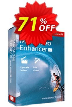 Aiseesoft Mac Video Enhancer Coupon, discount 40% Aiseesoft. Promotion: