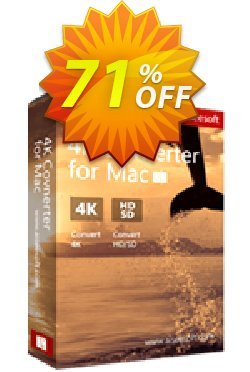Aiseesoft 4K Converter for Mac Coupon discount 40% Aiseesoft. Promotion: