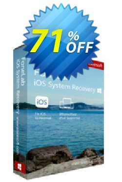 FoneLab - iOS System Recovery Coupon, discount 40% Aiseesoft. Promotion: