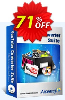 Aiseesoft Youtube Converter Suite Coupon discount  - 40% Off for All Products of Aiseesoft