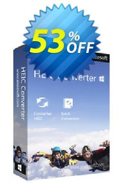 Aiseesoft HEIC Converter Coupon, discount 40% Aiseesoft. Promotion: 40% Aiseesoft Coupon code