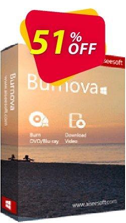 Aiseesoft Burnova Coupon, discount Burnova big offer code 2019. Promotion: 40% Aiseesoft Coupon code