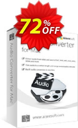 Aiseesoft Audio Converter for Mac Coupon discount 40% Aiseesoft - 40% Off for All Products of Aiseesoft