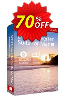 Aiseesoft DVD Converter Suite for Mac Coupon, discount 40% Aiseesoft. Promotion: