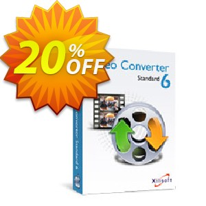 Xilisoft Video Converter Standard for Mac Coupon, discount 20% off for all products. Promotion: 20% off