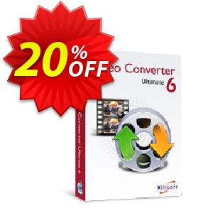 Xilisoft Video Converter Ultimate for Mac Coupon, discount 20% off for all products. Promotion: 20% off