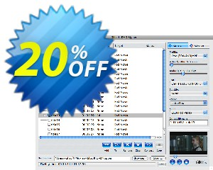 Xilisoft DVD Ripper Standard for Mac Coupon, discount 20% off for all products. Promotion: 20% off