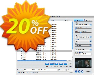 Xilisoft DVD Ripper Platinum for Mac Coupon, discount 20% off for all products. Promotion: 20% off