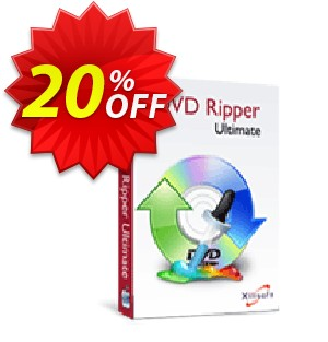 Xilisoft DVD Ripper Ultimate for Mac Coupon, discount 20% off for all products. Promotion: 20% off