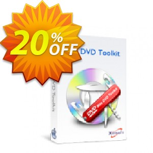 Xilisoft Mac DVD Toolkit Coupon, discount 20% off for all products. Promotion: 20% off
