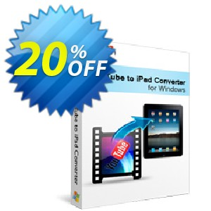 Xilisoft YouTube to iPad Converter Coupon, discount 20% off for all products. Promotion: 20% off