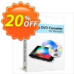 Xilisoft MP4 to DVD Converter Coupon, discount 20% off for all products. Promotion: 20% off