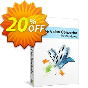 Xilisoft Online Video Converter Coupon, discount 20% off for all products. Promotion: 20% off
