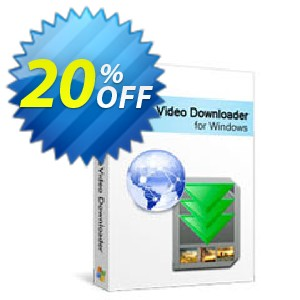 Xilisoft Online Video Downloader Coupon, discount 20% off for all products. Promotion: 20% off