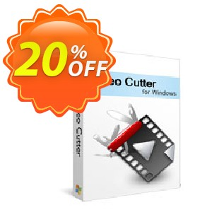 Xilisoft Video Cutter 2 Coupon, discount 20% off for all products. Promotion: 20% off