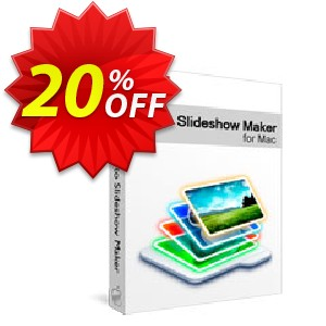 Xilisoft Photo Slideshow Maker for Mac Coupon, discount 20% off for all products. Promotion: 20% off