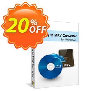 Xilisoft Blu-ray to MKV Converter Coupon, discount 20% off for all products. Promotion: 20% off