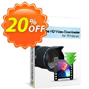 Xilisoft YouTube HD Video Downloader Coupon, discount 20% off for all products. Promotion: 20% off