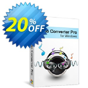 Xilisoft Audio Converter Pro Coupon, discount 20% off for all products. Promotion: 20% off