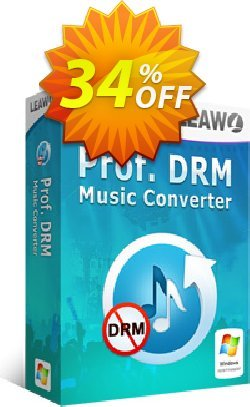 Leawo Prof. DRM Music Converter Coupon, discount Leawo coupon (18764). Promotion: Leawo discount