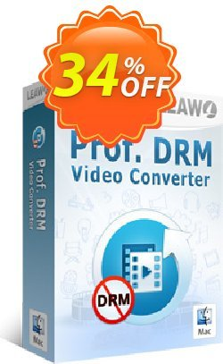 Leawo Prof. DRM Video Converter For Mac Coupon, discount Leawo coupon (18764). Promotion: Leawo discount
