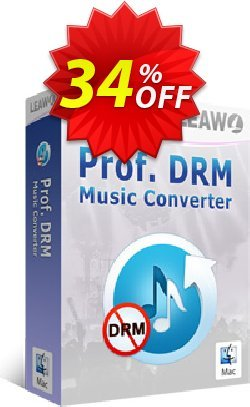 Leawo Prof. DRM Music Converter For Mac Coupon, discount Leawo coupon (18764). Promotion: Leawo discount