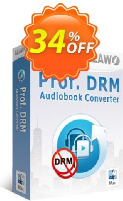 Leawo Prof. DRM Audiobook Converter For Mac Coupon, discount Leawo coupon (18764). Promotion: Leawo discount