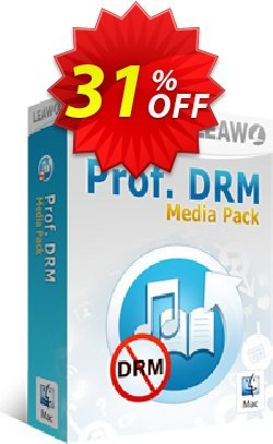 Leawo Prof. DRM Media Pack For Mac Coupon, discount Leawo coupon (18764). Promotion: Leawo discount