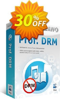 Leawo Prof. DRM For Mac Coupon discount Leawo coupon (18764). Promotion: Leawo discount