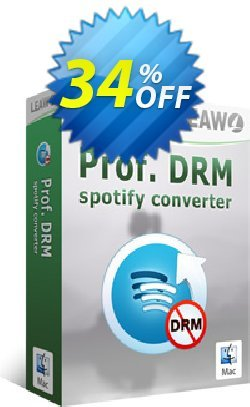 Leawo Prof. DRM Spotify Converter For Mac Coupon discount Leawo coupon (18764). Promotion: DRM Spotify Converter For Mac promotion