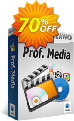 Leawo Prof. Media for Mac Coupon, discount Leawo Prof. Media for Mac super discount code 2019. Promotion: super discount code of Leawo Prof. Media for Mac 2019