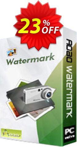 Aoao Watermark (Personal) Coupon, discount Aoao Watermark (Personal) wondrous discount code 2019. Promotion: wondrous discount code of Aoao Watermark (Personal) 2019