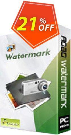 Aoao Watermark (Business) Coupon, discount Aoao Watermark (Business) amazing promotions code 2019. Promotion: amazing promotions code of Aoao Watermark (Business) 2019