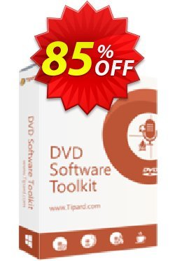 Tipard DVD Software Toolkit Lifetime License Coupon, discount 50OFF Tipard. Promotion: 50OFF Tipard