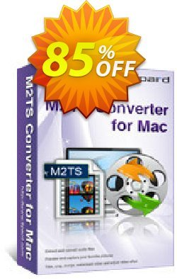 Tipard M2TS Converter for Mac Coupon, discount 50OFF Tipard. Promotion: 50OFF Tipard