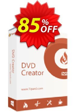 Tipard DVD Creator Lifetime License Coupon discount Tipard DVD Creator super promotions code 2019 - 50OFF Tipard