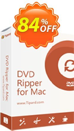 Tipard DVD Ripper for Mac Lifetime License Coupon, discount 50OFF Tipard. Promotion: 50OFF Tipard