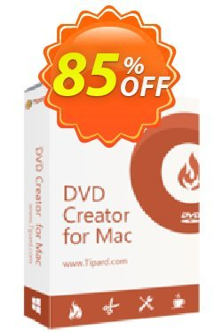 Tipard DVD Creator for Mac Coupon discount Tipard DVD Creator for Mac impressive sales code 2019 - 50OFF Tipard