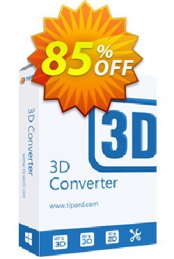 Tipard 3D Converter Coupon, discount Tipard 3D Converter formidable sales code 2019. Promotion: 50OFF Tipard