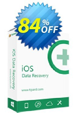 Tipard iOS Data Recovery Lifetime License Coupon discount Tipard iOS Data Recovery best sales code 2020 - 50OFF Tipard