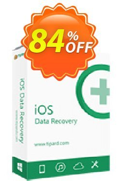 Tipard iOS Data Recovery for Mac Lifetime License Coupon, discount 50OFF Tipard. Promotion: 50OFF Tipard