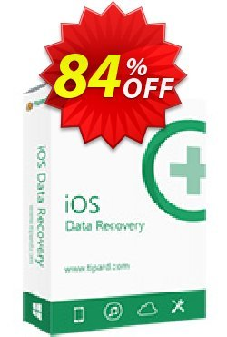Tipard iOS Data Recovery + 6 Devices Coupon, discount 50OFF Tipard. Promotion: 50OFF Tipard