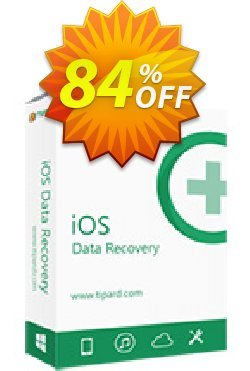 Tipard iOS Data Recovery for Mac + 6 Devices Coupon, discount 50OFF Tipard. Promotion: 50OFF Tipard