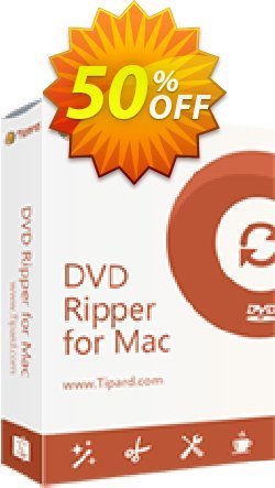 Tipard DVD to AVI Converter for Mac Coupon, discount 50OFF Tipard. Promotion: 50OFF Tipard