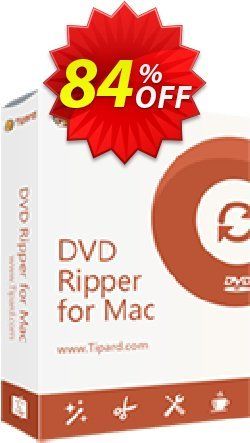 Tipard DVD to WMV Converter for Mac Coupon, discount 50OFF Tipard. Promotion: 50OFF Tipard
