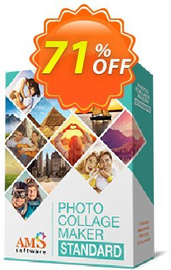 AMS Photo Collage Maker Standard Coupon discount ?????? PCC 9.0 PRO -
